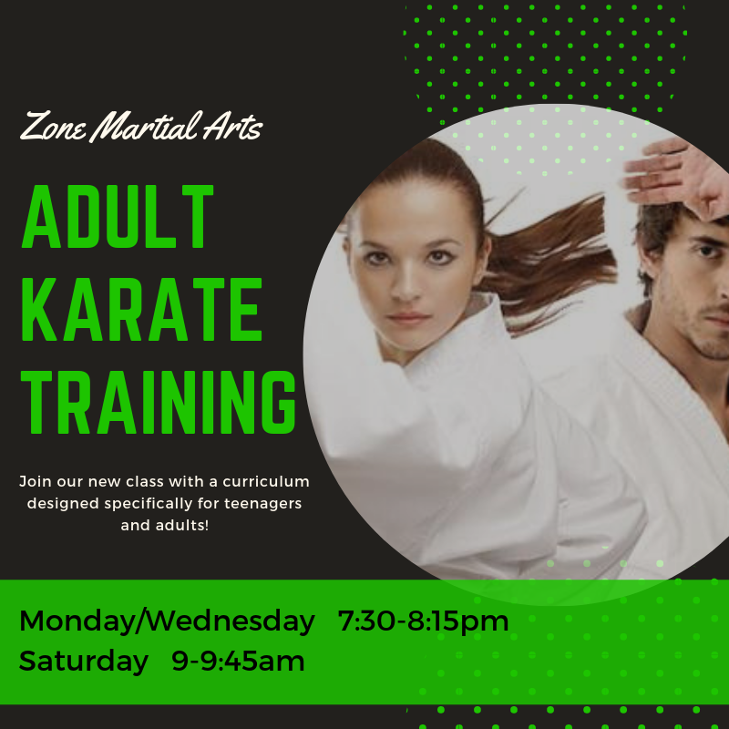 Adult Karate Training Class